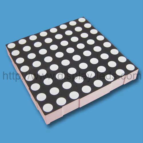 2.3 Inch 8x8 RGB(full color) Dot Matrix LED display