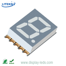0.39 Inch Single Digit 7 Segment 3.1mm Ultra Thin SMD Display
