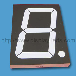 4'' numeric LED Display with 4 LEDs in series 2 LEDs in parallel