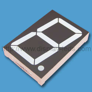 3 inch (75 mm) white 7 segment LED Display