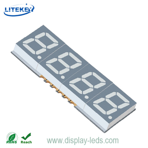 0.39 Inch Four Digit 7 Segment SMD Display