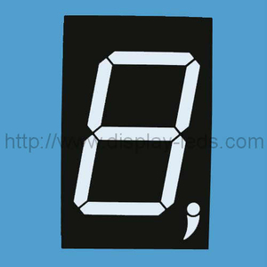 3 inch (76 mm) 7 segment LED Display with dual colors
