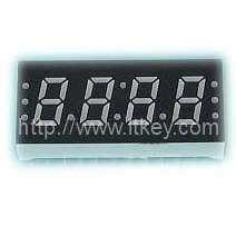 0.3 Inch 4 digits 7 Segment LED Clock Display