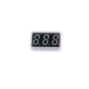 0.31 Inch three Digits 7 Segment LED Display