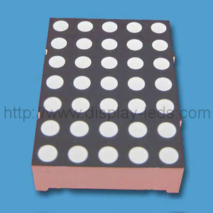 1.20 inch (30 mm) 5x7 dual color LED dot matrix display