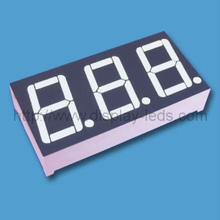 0.56 inch three digit 7 segment Display