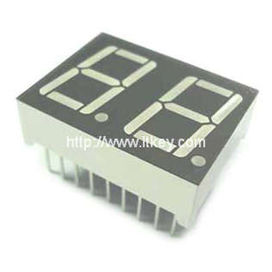0.56 inch dual digit 7 segment Display