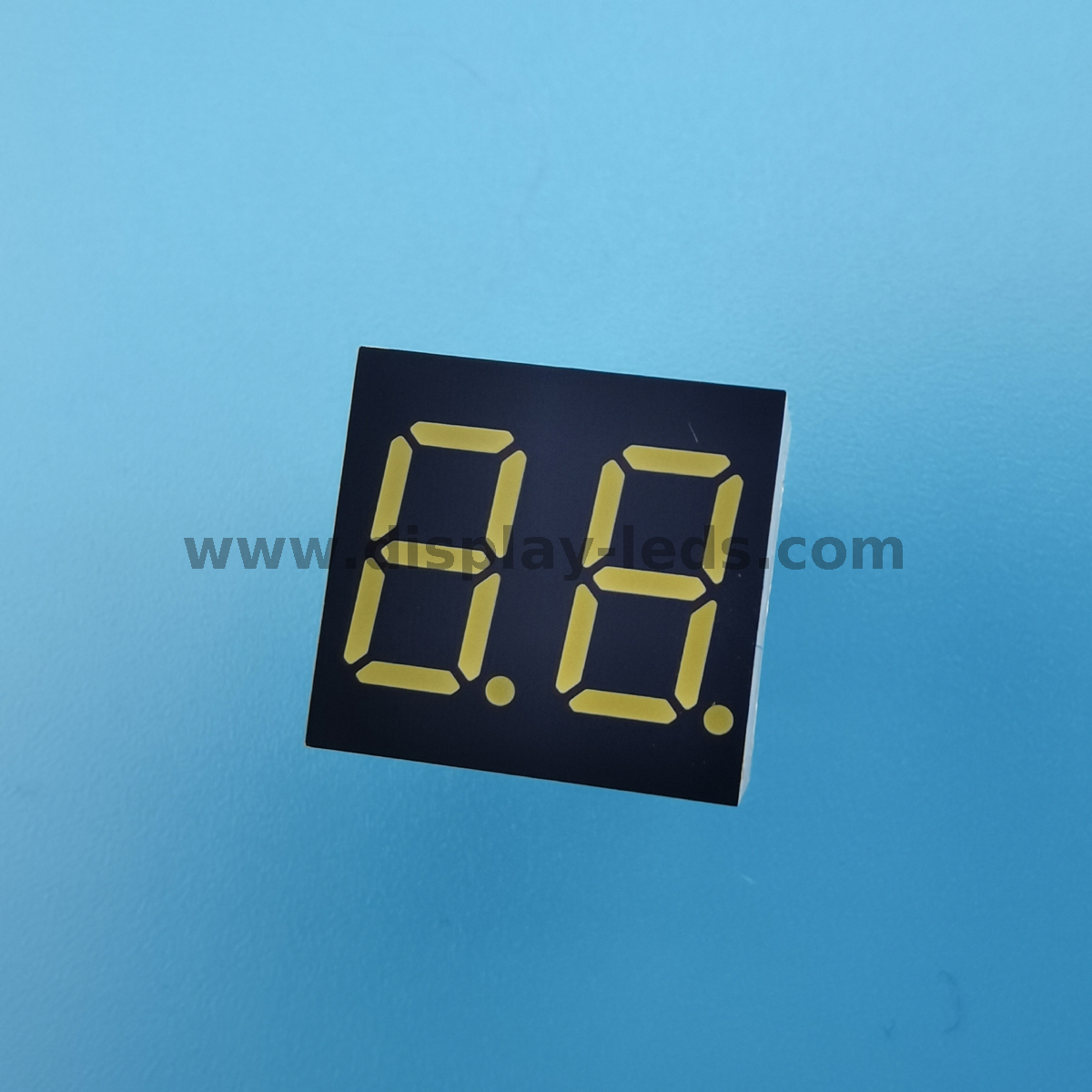 LD3622A/B Series - 0.36 inch 2 digit 7 segment display with 15mm length