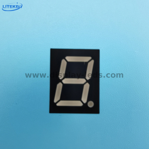 LD3911C/D Series - 0.39inch 1-digit 7 segment display with common pin 1&6