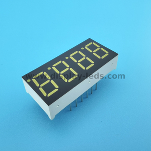 LD3641A/B Series - 0.36 inch 4 digit 7 segment display